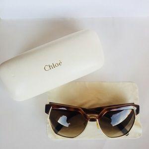 Authentic Chloé Dafne Sunglasses with case!!!